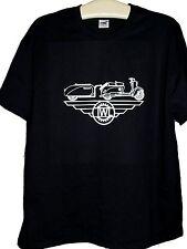 IWL Berlinroller T-Shirt XL ; Berlinroller & Campi Einradanhänger ; ws auf sw