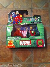 Marvel Minimates ANNIHILUS & NOVA FLAME HUMAN TORCH TRU Wave 15 Exclusive