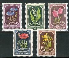 Hungary-1951.- Flower Cpl.Set Mnh!
