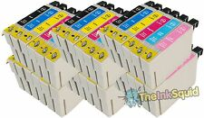 36 T0801-6/T0807 non-oem Hummingbird Ink Cartridges fits Epson Stylus P50
