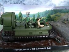 1/43 Hovecraft James Bond DIE ANOTHER DAY  007 series  diorama