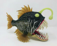 Toys R Us Animal Planet Chap Mai Deep Sea Angler Fish Toy Figure Piranha