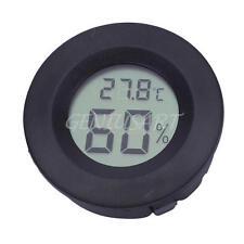 Termometro Igrometro LCD Digitale Temperatura Umidità Strumenti Per Casa Nero