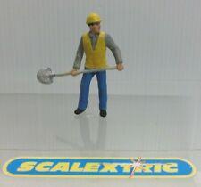 Estilo Vintage Hombre de mantenimiento de pista para Scalextric Airfix Ninco SCX FLY + 1.32... un