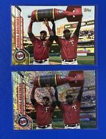2020 Topps Complete Set Bomba Brothers Foilboard Parallel #d /264 Lot