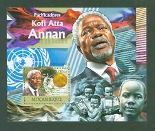 Mosambik Mozambique 2012 - Kofi Atta Annan - UN - Nobelpreis - Prix Nobel Prize