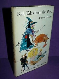 Folk Tales from the West by Moloney, Eileen Hardback Book, Stories 1971.1/1 (BB)
