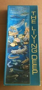 """Lovey Vintage """"The Living Deep"""" Jigsaw 750pc Complete (includes info sheet)"""