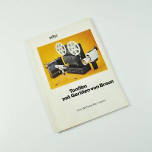 Tonfilm mit Geräten von Braun - Wilhelm Herrmann - 1972 - Buch - Heft