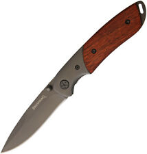 """Browning Cocobolo 3.13"""" Stainless Folding Linerlock Knife"""