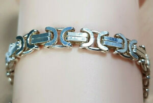 Armkette 925 Sterling SILBER Silberarmband filigran bracelet nacre Armband