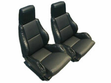 CHEVY CORVETTE C4 SPORT TYPE5 1984-1993 BLACK S.LEATHER CUSTOM FIT SEAT COVER