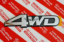 Genuine Toyota Landcruiser 80 Series Part Time 4WD Badge Emblem
