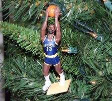 wilt CHAMBERLAIN san francisco WARRIORS basketball NBA jersey xmas TREE ornament