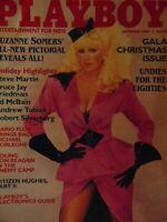 Playboy December 1984 Gala Christmas Issue | Suzanne Somers Karen Velez   #7570