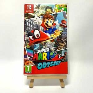 Super Mario Odyssey - Reproduction Box Only NO Game Switch Cover Art & Case PAL