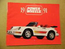1991 KRANSCO POWER WHEELS TOY FAIR CATALOG Battery Powered Vehicles Jeep Barbie