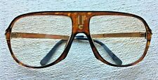 Vintage Carrera Eyeglass Frames 70's Retro 100% Authentic Tortoise & Gold 5547