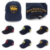 Vintage Polo Club New York N.Y 1967 Men's Baseball Cap Classic Golf Hat Big Pony