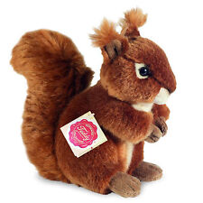 Squirrel collectable plush soft toy teddy by Hermann - 17cm - 90818