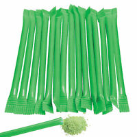 Green Candy Straws - 240 pieces