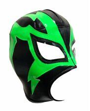 SHOCKER (pro-fit) Lucha Libre Mexican Wrestling Luchador Costume Mask - Blk/Gold