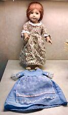 PLEASANT COMPANY American Girl Felicity Doll 1993 Vintage in Dress w Xtra Dress