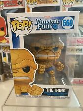 Funko POP! Marvel Fantastic Four - The Thing Vinyl Figure #560
