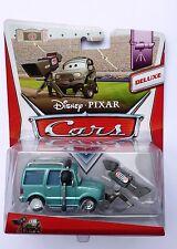 Disney Pixar Cars  NELSON BLINDSPOT  Deluxe Rare UK Over 100 Cars Listed !!