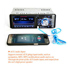 Individual 1din coche MP4/5 PLAYER BLUETOOTH USB Audio Estéreo radio&4 LED