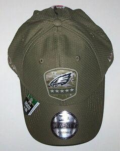 New Era Philadelphia Eagles Hat Salute to Service 9TWENTY Style Adjustable Adult
