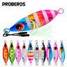 5pcs/set Metal Fishing Lures Spoons Vertical Jigging Bait Fishing Jigs Lead Fish