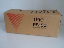 KENWOOD (TRIO) PS-50 (GENUINE CARDBOARD BOXS ONLY).........RADIO_TRADER_IRELAND.
