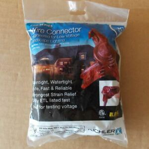 NEW Kichler Pro Series Wire Connector, 300 Volt Max, (10 Pack)