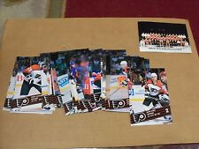 1990-91, Philadelphia Flyers, Postcard Set/Lot, Complete @ 26 Cards, Clean