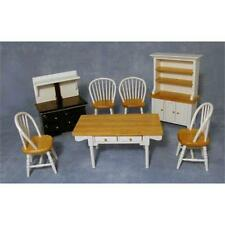 White and Pine Kitchen Set 12th Scale DF1180