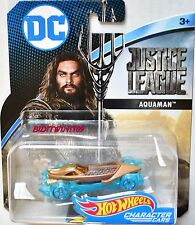 HOT WHEELS 2017 DC COMICS AQUAMAN CHARACTER CARS JUSTICE LEAGUE