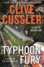Clive Cussler TYPHOON FURY Unabridged CD *NEW* FAST Ship