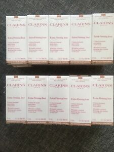 20 Echantillons 5 Ml Extra Firming Creme Jour Clarins Total 100 Ml