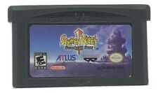 Summon Night Swordcraft Story Game Boy Advance game w/ CASE GBA