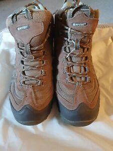 HiTec Hi-Tec adventure MID Walking Womens Ladies Hiking Boots Waterproof