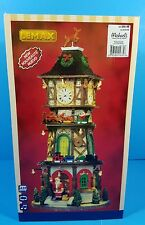 NEW!! 2014 LEMAX Christmas Clock Tower 5V Adapter ANIMATED