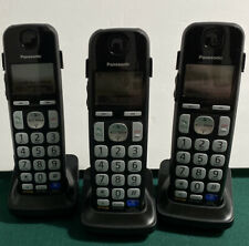 Panasonic Lot Of 3 Cordless Telephones Kx-Tgea20