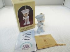 Precious Moments~Ornament~ Policeman~Trust And Obey~102377 Signed by SamB