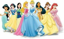 Disney Princesses Movie Character Iron On T-Shirt Transfer A5