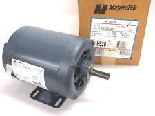 MagneTek Century Ac 1 Hp Electric Motor, 1140 Rpm, 200-230/460V, 3Ph, K56, H526