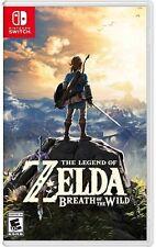 The Legend Of Zelda: Breath Of The Wild Nintendo Switch NEW!