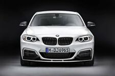 orig. BMW M Performance Frontspoiler Schwarz Matt 2er F22