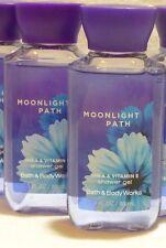 2 Moonlight Path Shower Gel Bath & Body Works 3 Oz