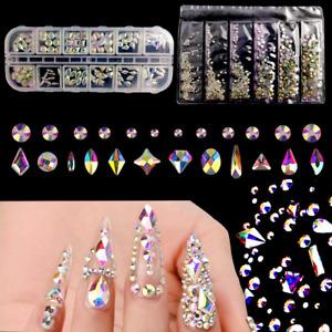 Piedras Para Uñas Conjunto De Diamantes De Imitación De Cristal 1840 Piezas, DIY